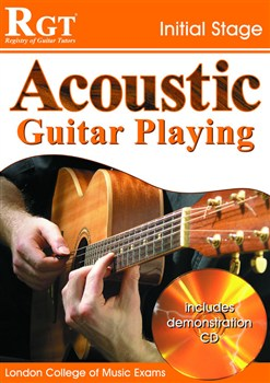 Registry of Guitar Tutors: Acoustic Guitar Playing - Initial Stage (Book and CD)