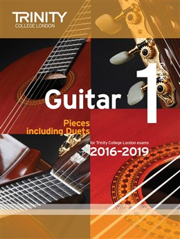 Trinity College London: Guitar Exam Pieces - Grade 1 (2016-2019)